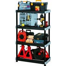 Heavy Duty 57 H Four Shelf Shelving Unit by RIMAX