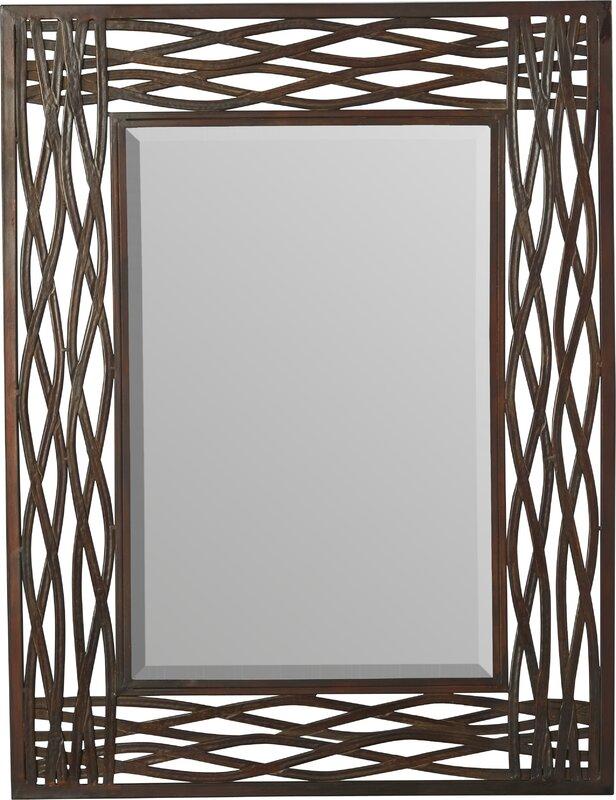 Oversized Wall Mirrors matilda rectangle oversized wall mirror & reviews | joss & main