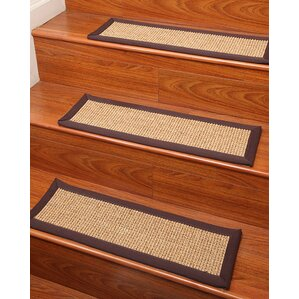 sisal casual living stair treads set of 4