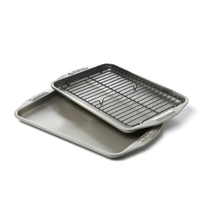 3 piece 25th anniversary rectangle bakeware set - Bakeware Sets