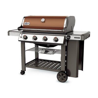 Weber Spirit E-310 3-Burner Propane Gas Grill with Cabinet