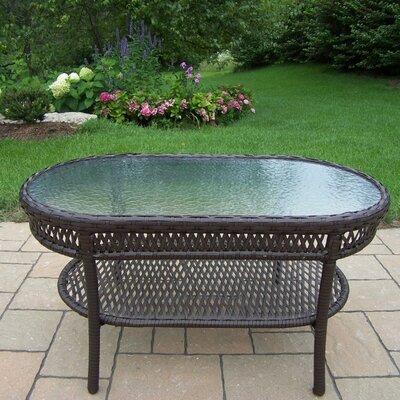 oval patio tables you'll love | wayfair