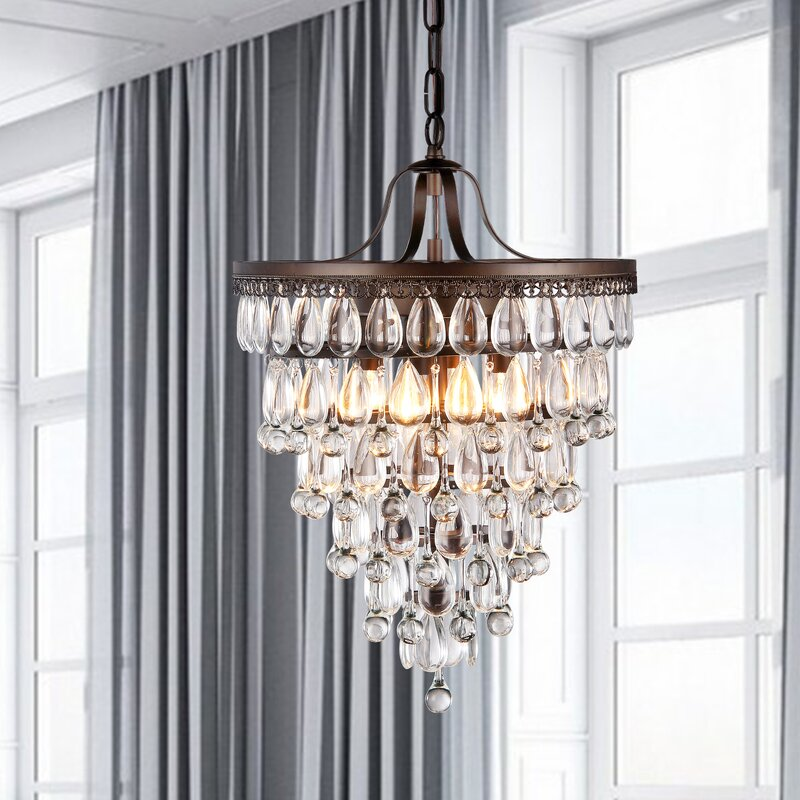 lighting guide with stunning modern crystal chandelier