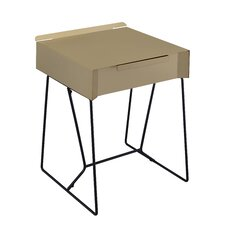 Backman End Table by Mercury Row
