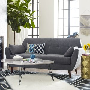 Amelie Mid-Century Modern Sofa by Elle Decor