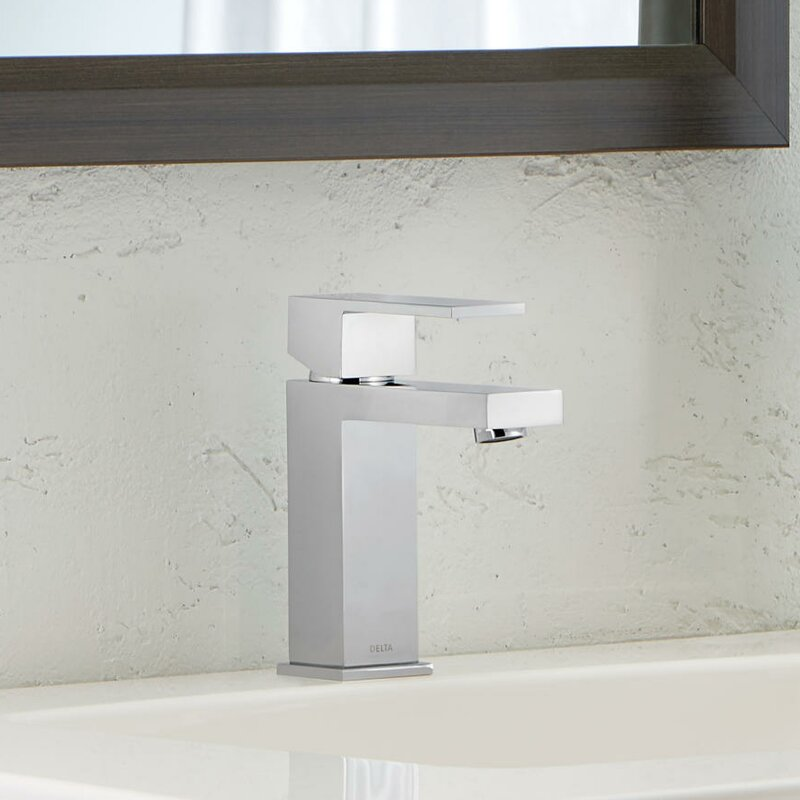 default name. Delta Ara Single Handle Single Hole Lavatory Faucet with Drain