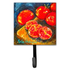 Tomato Slice It Up Leash Holder and Wall Hook by Caroline's Treasures