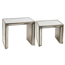 2 Piece Nesting Table Set by A&B Home