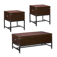 Southport 3 Piece Trunk Coffee Table Set by Wildon Home