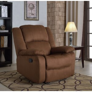 Parsonsfield Microfiber Recliner by Andover Mills