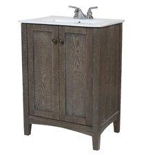 "Jeremiah 24"" Single Bathroom Vanity Set"