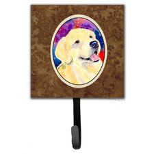 Golden Retriever Leash Holder and Wall Hook by Caroline's Treasures