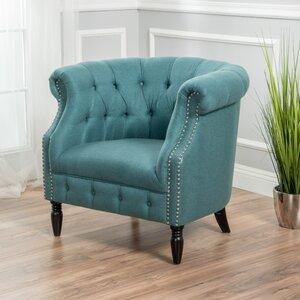 Bourbeau Barrel Chair by Willa Arlo Interiors