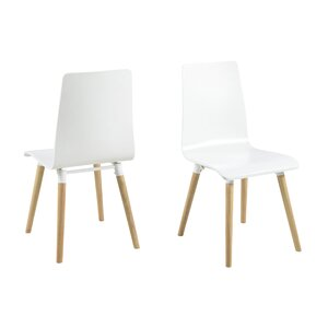 Lowell Solid Wood Dining Chair (Set of 4) by Langley Street