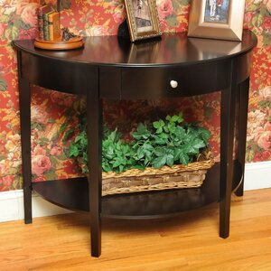 Bay Shore Large Half Moon Console Table by Wildon Home