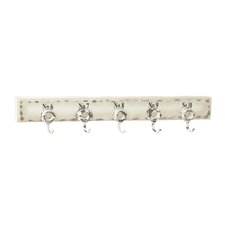 Wood and Metal Wall Mounted Coat Rack by Cole & Grey