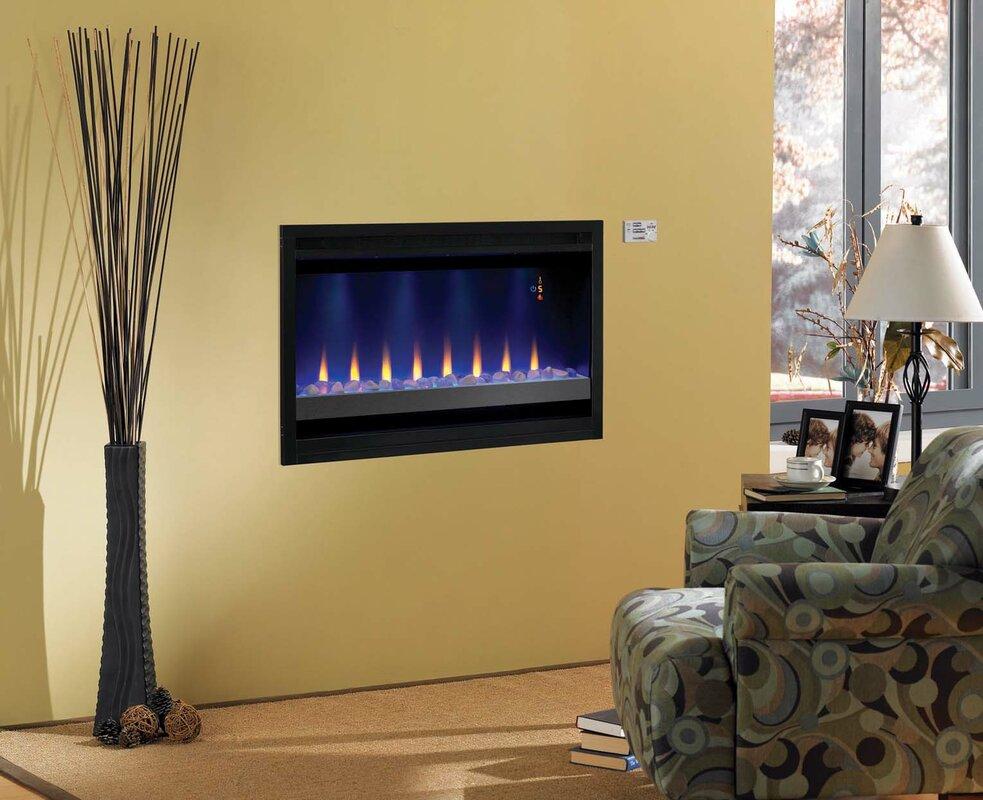 Fireplace Design powerheat infrared quartz fireplace : Classic Flame | Wayfair