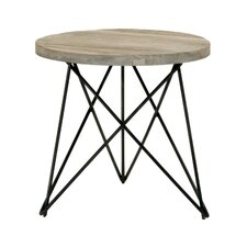 Canvas End Table by Orient Express Furniture