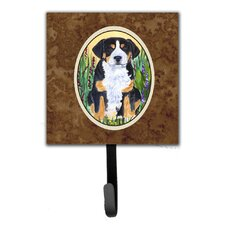 Greater Swiss Mountain Dog Leash Holder and Wall Hook by Caroline's Treasures