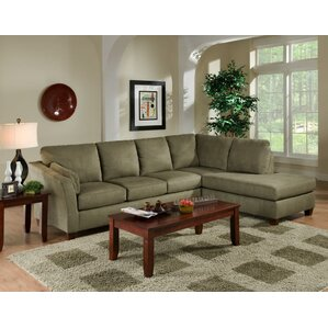 Double Cuddler Sectional Sofa | Wayfair