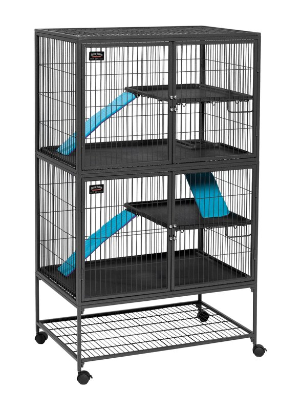 Midwest Homes For Pets Ferret Nation Habitat Modular with Double