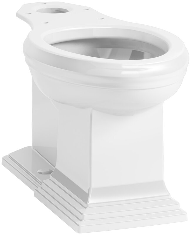 Kohler Memoirs Comfort Height Elongated Toilet Bowl with Concealed