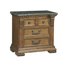 Athens 4 Drawer Nightstand by Astoria Grand