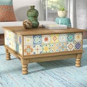 Campbell Lift Top Coffee Table by Mistana