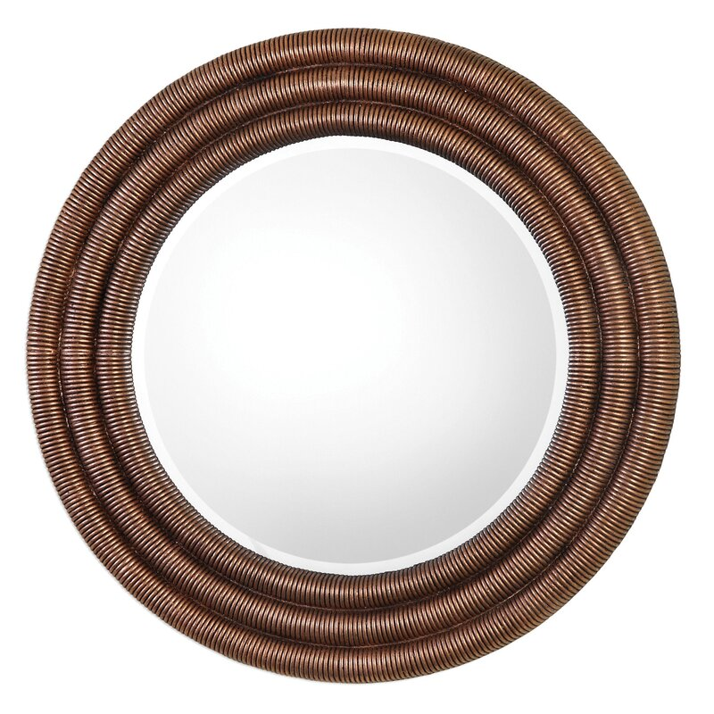 Wayfair Wall Mirrors bloomsbury market tanya helical wall mirror | wayfair