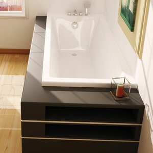 Super Strong Bath with Feet 180cm x 80cm Standard Soaking Bathtub