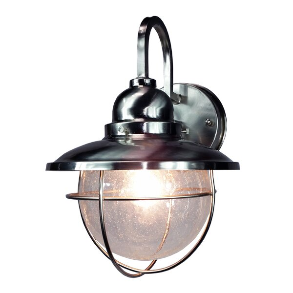 HomeSelects International Coastal 1 Light Outdoor Wall Lantern U0026 Reviews |  Wayfair