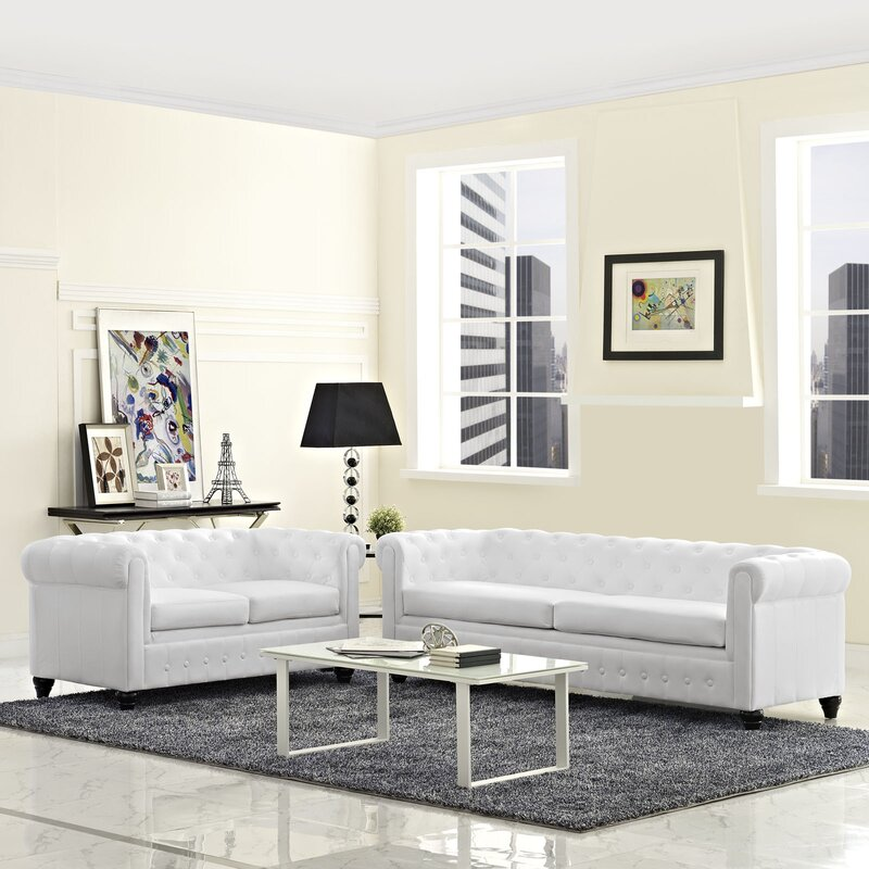 Modway Earl 2 Piece Living Room Set & Reviews | Wayfair