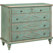 Danielle 5 Drawer Accent Chest by Colville Studios