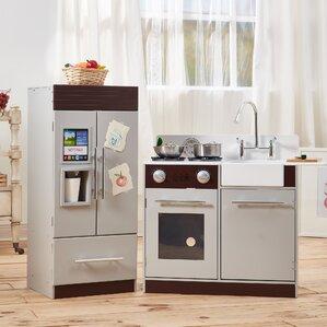 teamson kids urban luxury play kitchen set. Interior Design Ideas. Home Design Ideas