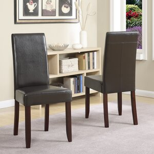 Acadian Upholstered Dining Chair (Set of 2) by Simpli Home