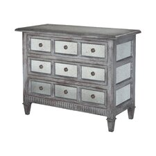 Beaucanton Mirrored 9 Drawer Accent Chest by August Grove