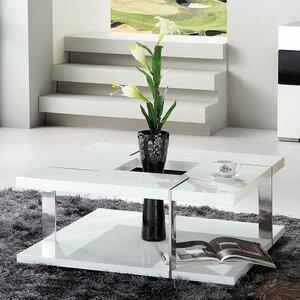 Clower Modern Square Coffee Table by Orren Ellis