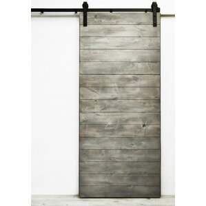 latitude wood 1 panel interior barn door