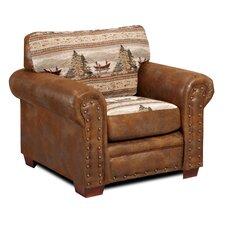 Alpine Lodge Club Chair by American Furniture Classics