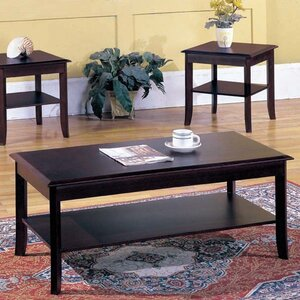 Jessica 3-Piece Coffee Table Set by Andover Mills
