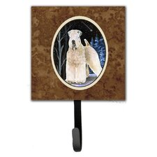 Starry Night Wheaten Soft Coated Terrier Leash Holder and Key Hook by Caroline's Treasures
