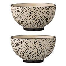 Saffron Ceramic Soup Bowl 4 Piece Set (Set of 4)