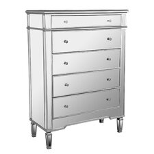 Amita 5 Drawer Standard Chest by Everly Quinn