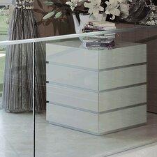 Potenza 4 Drawer Dresser by Argo Furniture