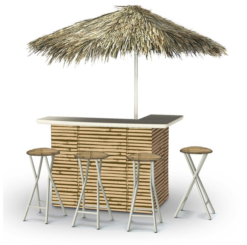 Tiki Bar Patio Bars U0026 Sets Youu0027ll Love | Wayfair