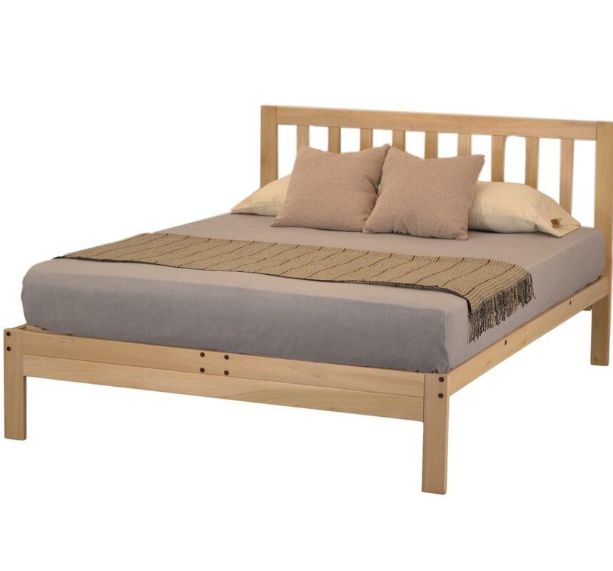 kd frames charleston 2 platform bed & reviews   wayfair