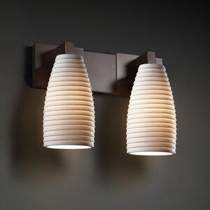 Bloomfield 2-Light Vanity Light Darby Home Co