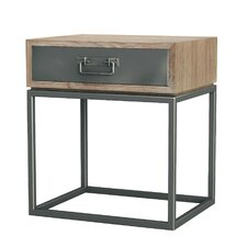 Simplicity 1 Drawer Nightstand by Asta Furniture, Inc.