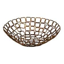 """10"""" Coppered Link Fruit Basket (Set of 2)"""