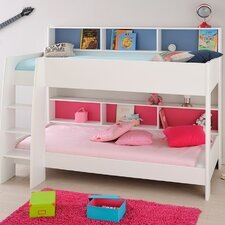 Leo Twin Over Twin Bunk Bed with Trundle by Parisot